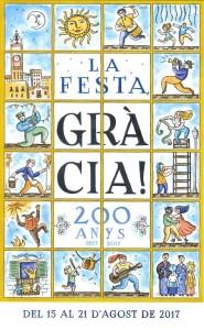 Cartell de la Festa Major de Gràcia